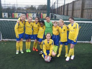 6aside football girls