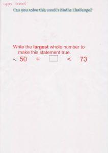Year 5&6 Maths Challenge 20.11.2015