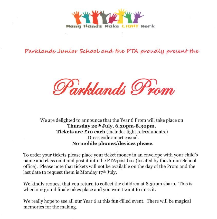 parklands Prom